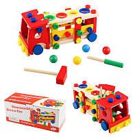 """Деревянная игрушка """"Стучалка + конструктор"""""""