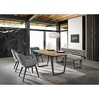 Деревянный стол Стол обеденный Quadro 160 х 90 см 95473, цвет - дуб