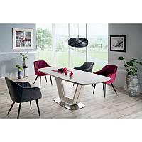 Стеклянный стол Стол обеденный Armani Ceramic 160, цвет - серый