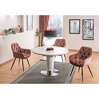 Стеклянный стол Helios 96261, цвет - белый