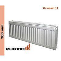 Радиатор Purmo Compact, тип 11, бок. подк. 300*