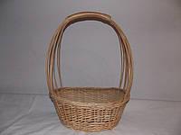 Подарочная корзина из натуральной лозы, фото 1