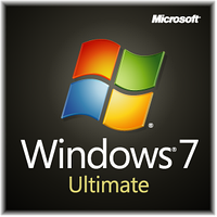 Microsoft Windows 7 Ultimate Ukrainian DVD BOX (GLC-00299)