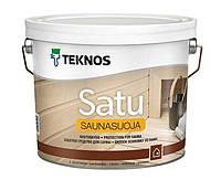 Пропитка для вагонки в баню Teknos Satu Saunasuoja 2,7л.