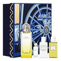 Наборы унисекс Hermes Le Jardin de Monsieur Li set (edt 100ml+edt 7,5ml+sh/gel 40ml+b/lot 40ml)  оригинал