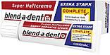 Фиксирующий крем Blend-a-dent (Kukident) Super-Haftcreme Complete extra stark для зубных протезов 40g, фото 2
