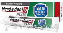 Фиксирующий крем Blend-a-dent Plus Beste antibakterielle technologie Premium-Haftcreme для зубных протезов 40g