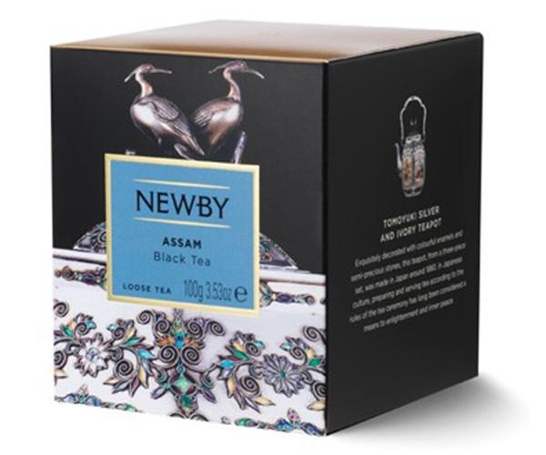 Черный чай Newby Ассам 100 г картон (220010)