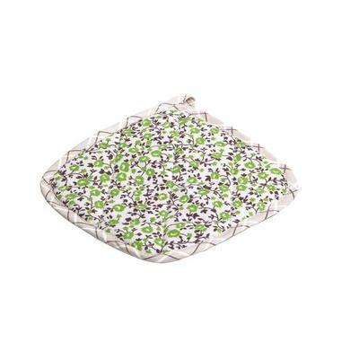 Прихватка для кухни Цветы-Олива 20х20 см