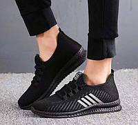 Стильные легкие мужские кроссовки с полосками, 39 - 44