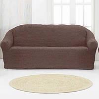 Накидка для дивана Grand 170*230 Коричневая