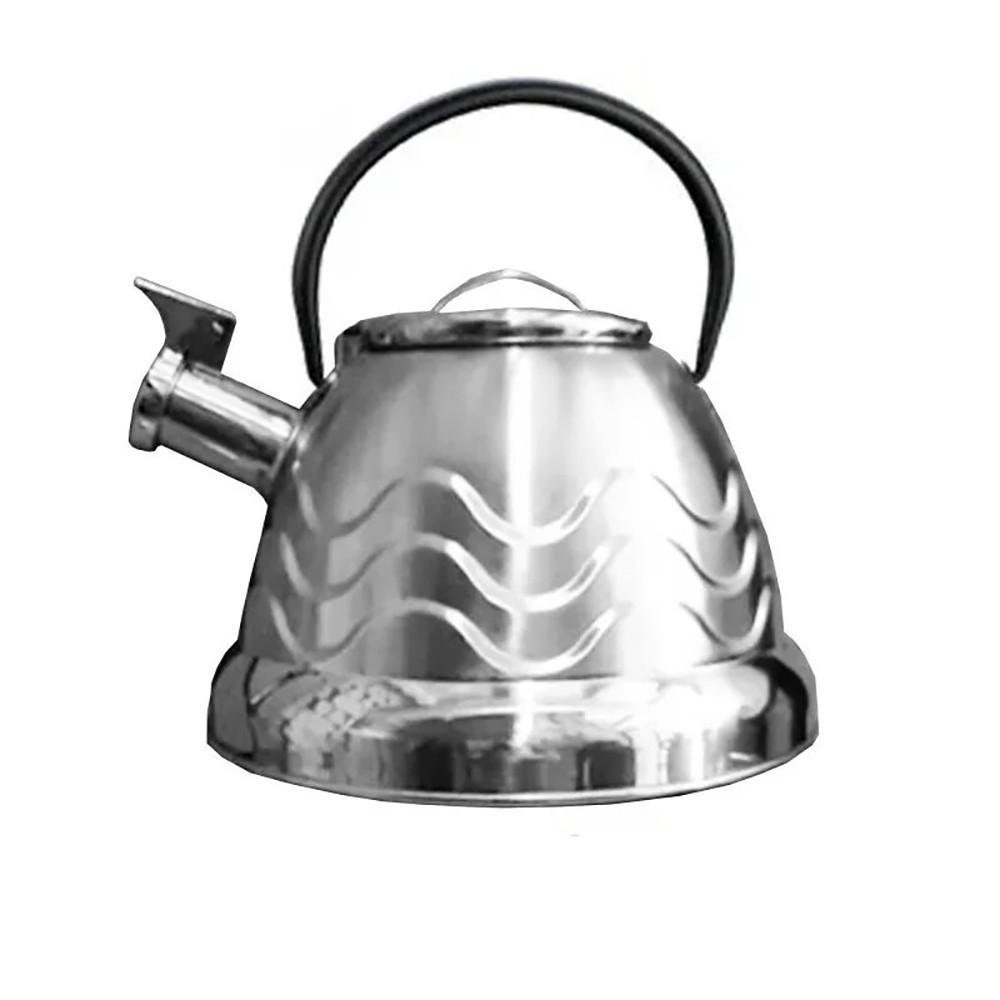 Чайник со свистком Rainberg RB-723 + ПОДАРОК: Держатель для телефонa L-301