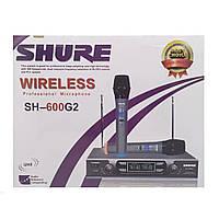 Беспроводные вокальные микрофоны SHURE SH-600G2