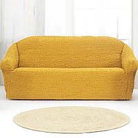 Накидка для дивана Grand 170*230 Жёлтая