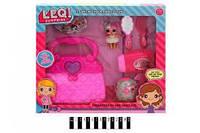 Кукла L.O.L. с аксессуарами, сумочка, фен TM863A , кукла лол, лялька лол