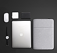 "Чохол для Macbook Air/Pro 13,3"" - сірий, фото 4"
