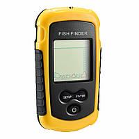 Эхолот рыболовный Fish Finder FF07 Yellow