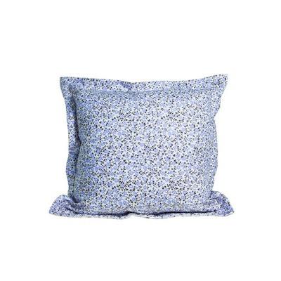 Подушка декоративная Цветы-Лаванда с ушками 40х40 см