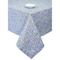 Скатерть Цветы Лаванда 140х140 см