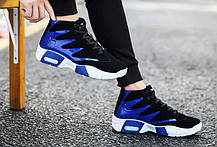 Стильные  мужские кроссовки с яркими вставками, 42 - 44, фото 3