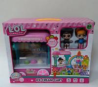 Кукла Лол Мороженица набор 863