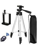 Трипод тренога штатив Bluetooth DK-3888 для селфи для смартфона фотоаппарата камеры
