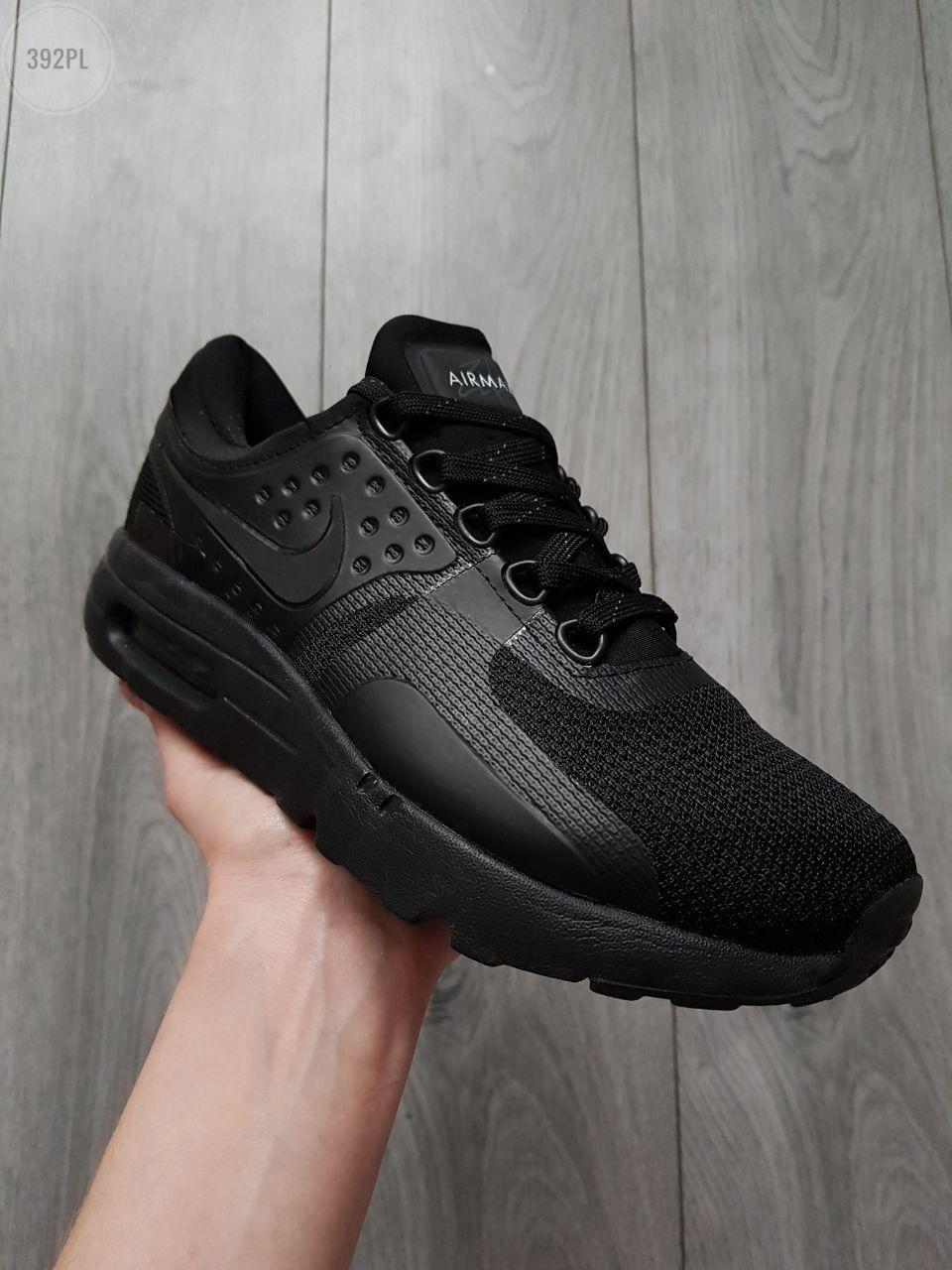 Мужские кроссовки Nike Air Max Zero Total Black Reflective