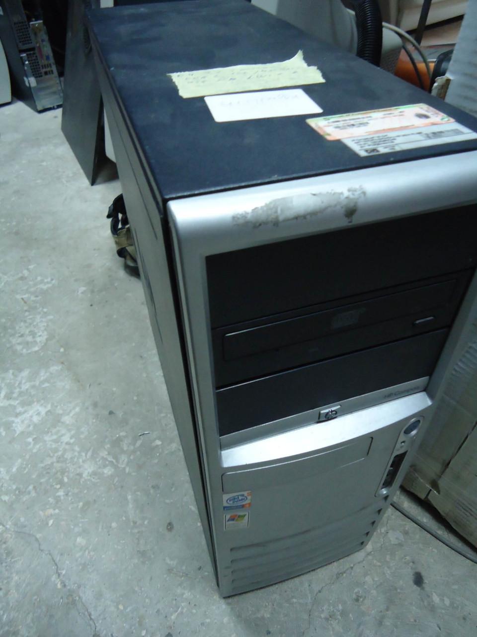Фирменный 2-х поточный компьютер HP Compaq dc7100 Pentium 4