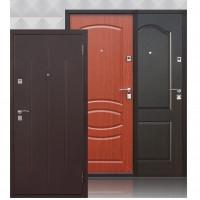 Дверь металлическая входная Стройгост 7-2 Металл/Итальянский орех