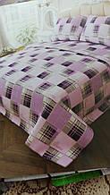 Семейный комплект постельного белья - простынь 220*200см, 2 пододеяльника по 220*150см, 2 наволочки по 70*70см