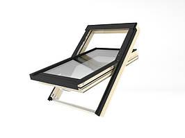 Мансардне вікно Lux Energy Обертальне Fakro FTT U6 55x98