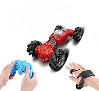 Машинка трансформер перевертыш Climber Champions Car для трюков с управлением жестами и пультом д/у 32см