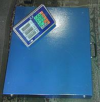 Товарные весы Олимп TCS-R3 (600 кг) БЕСПРОВОДНЫЕ 600х500 мм.