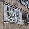 Решетка на окно выпуклая Шир.2970*Выс.2000мм