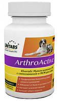 Unitabs Arthroactive витамины для суставов и связок у собак (Юнитабс)