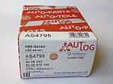 Датчик ABS задний (система BOSCH) на Renault Trafic / Opel Vivaro с 2006 по 2014 Autlog (Германия) AS4795, фото 5
