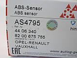 Датчик ABS задний (система BOSCH) на Renault Trafic / Opel Vivaro с 2006 по 2014 Autlog (Германия) AS4795, фото 6
