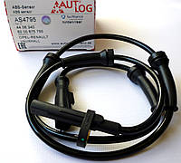 Датчик ABS задний (система BOSCH) на Renault Trafic / Opel Vivaro с 2006 по 2014 Autlog (Германия) AS4795