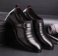 Стильные удобные мужские туфли, 42-46
