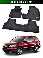Килимки Premium Honda CR-V '06-12. Текстильні автоковрики Хонда СРВ, фото 1