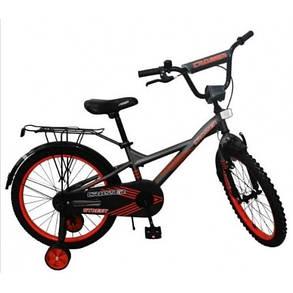 """Дитячий велосипед Crosser Street 18"""" помаранчевий, фото 2"""