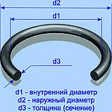 Кольцо резиновое 181,0х3,6; типоразмер 185-190-36, фото 3