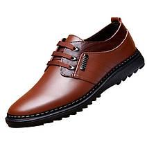 Стильные повседневные мужские туфли, 42-44, фото 3