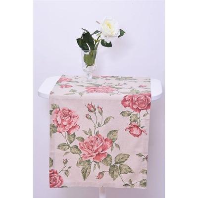 Дорожка   large pink Rose 120х40 см