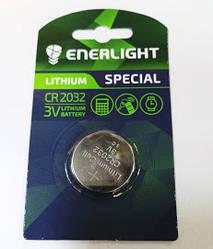 Enerlight батарейка літієва CR2032 1pc BLISTER CARD