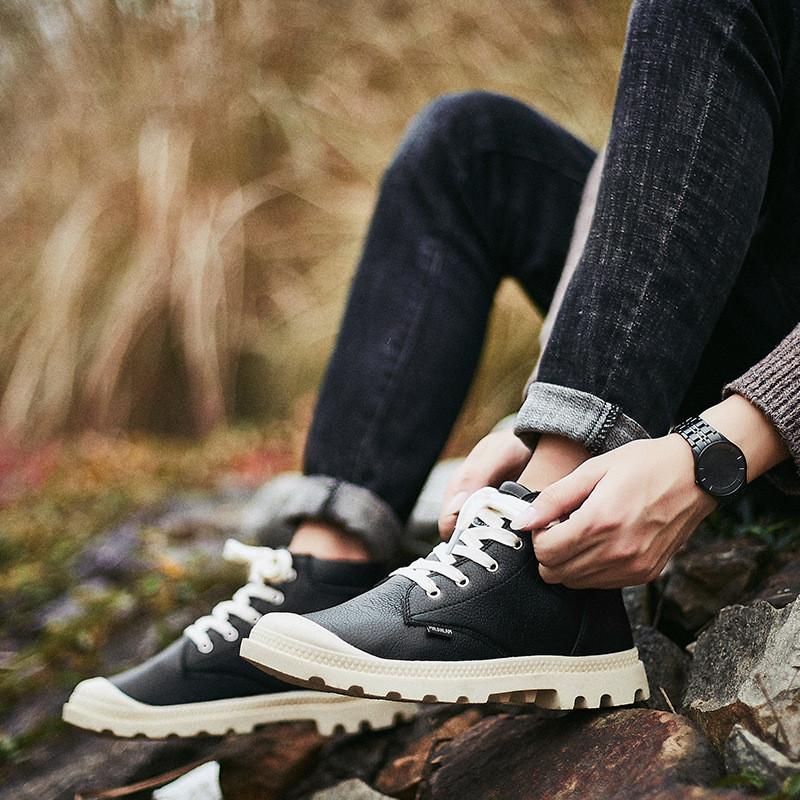 Стильные мужские ботинки кеды, 41, 43