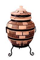 """Тандыр печь дизайн """"Кирпич"""" №4 65 литров, фото 1"""