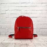 Рюкзак piton mid красный из натуральной кожи kapri, фото 4