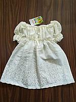 """Сукня """"Інеса"""" зростання 74-98 см (молочні і рожеві)"""