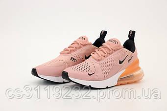 Женские кроссовки Nike Air Max 270 Pink (пудра)